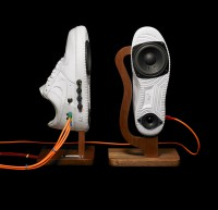 Reproduktory z tenisek - Nike Air Force 1 Sneaker Speakers (nashmoney)