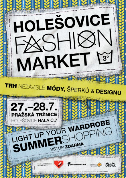 Holešovice Fashion Market: Light Your Wardrobe - Summershopping